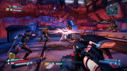 Borderlands: The Pre-Sequel Gameplay Screenshot