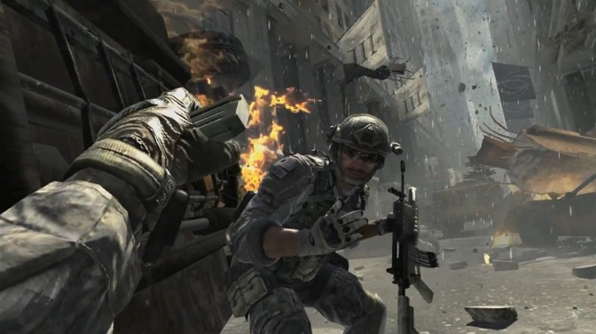 Concept Art from Canceled Call of Duty Project by Sledgehammer Games