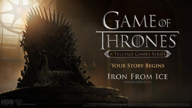 First Trailer for Game of Thrones: A Telltale Games Series