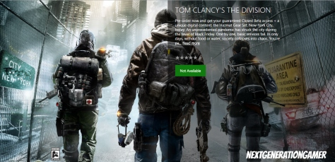 Tom Clancy's The Division NextGenerationGamer