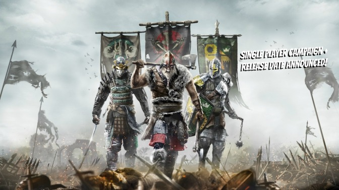 For Honor Single-Player Campaign + Release Date Revealed [Video Added]