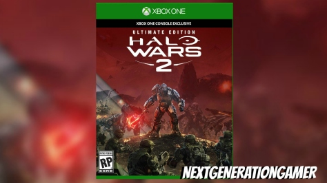Halo Wars 2 Official Box Art