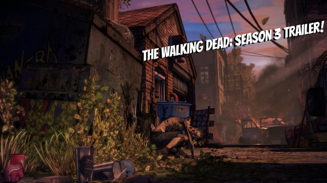 Telltale's The Walking Dead: Season 3 Returning This Fall + Trailer!